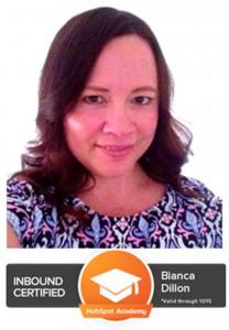Bianca Dillon - Inbound Marketer