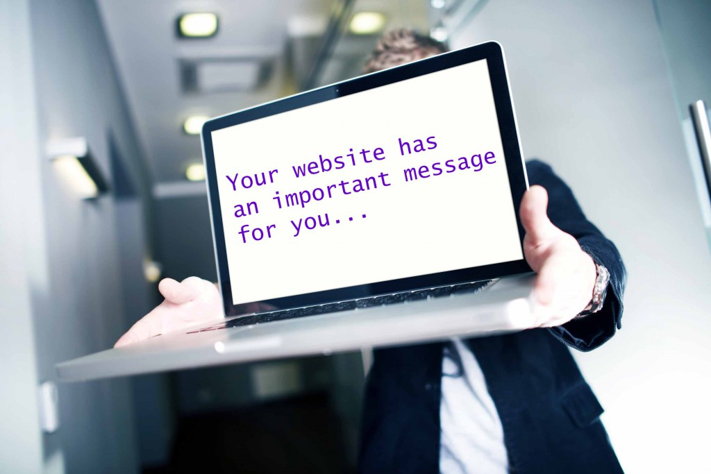 3 things your website wants you to stop doing today